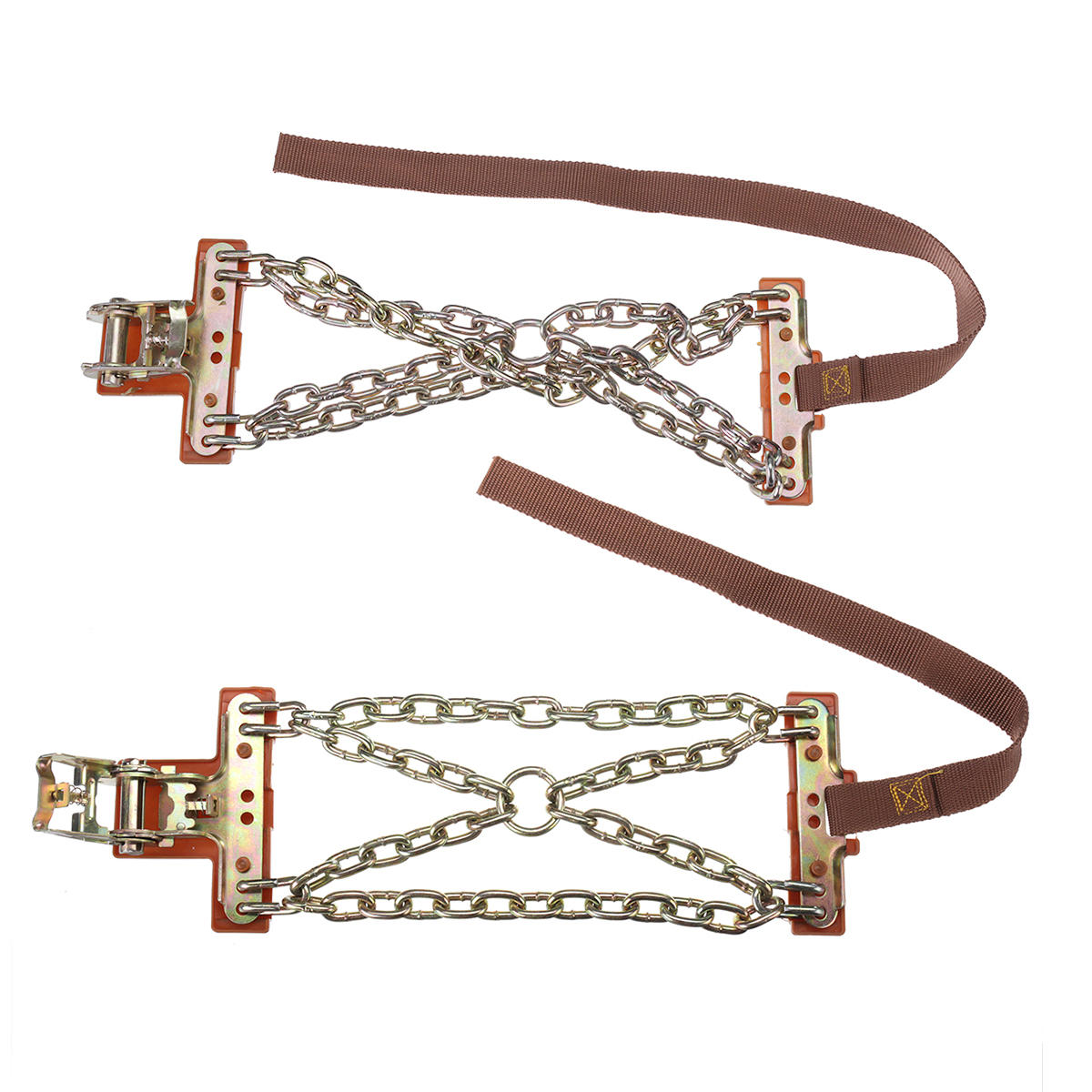 Steel Winter Emergency Car Snow Chain Truck Wheel Tyre Anti-skid Safety Belt S/L Safe Driving For Ice Sand Muddy Offroad