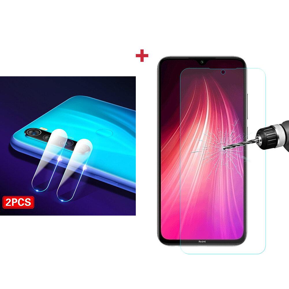 ل xiaomi Redmi Note 8 Bakeey المضادة للانفجار الزجاج المقسى شاشة حامي + 2 قطع المضادة للخدش هاتف حامي عدسة