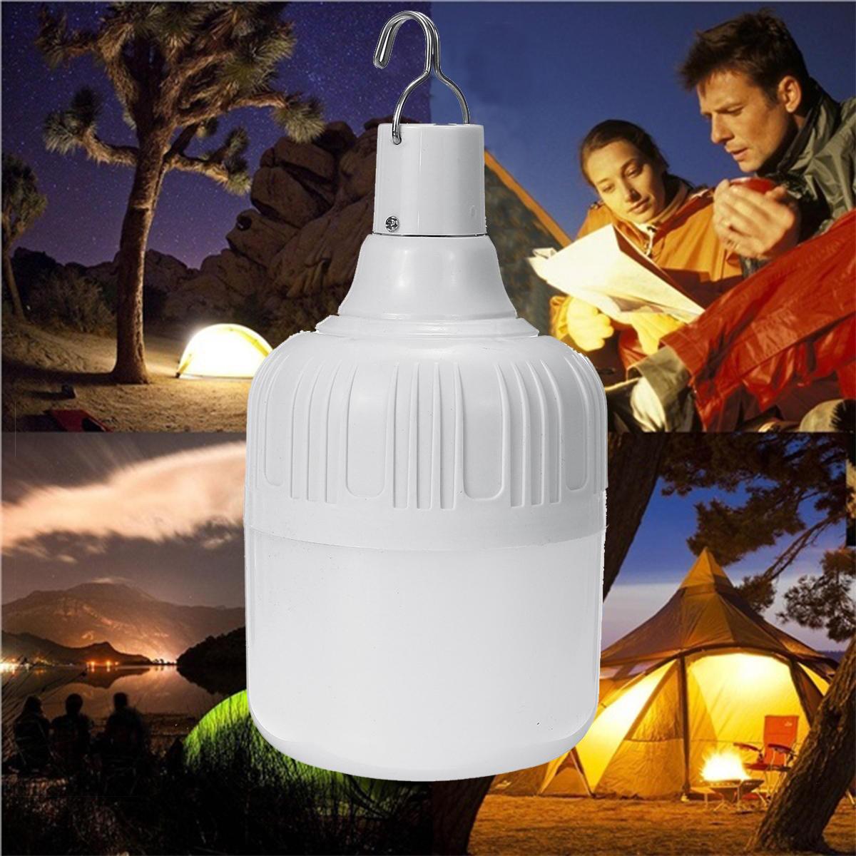 Lampadina bianca ricaricabile di emergenza SMD 5630 luce a led 9W 15W 24W 36W USB per esterni campeggio