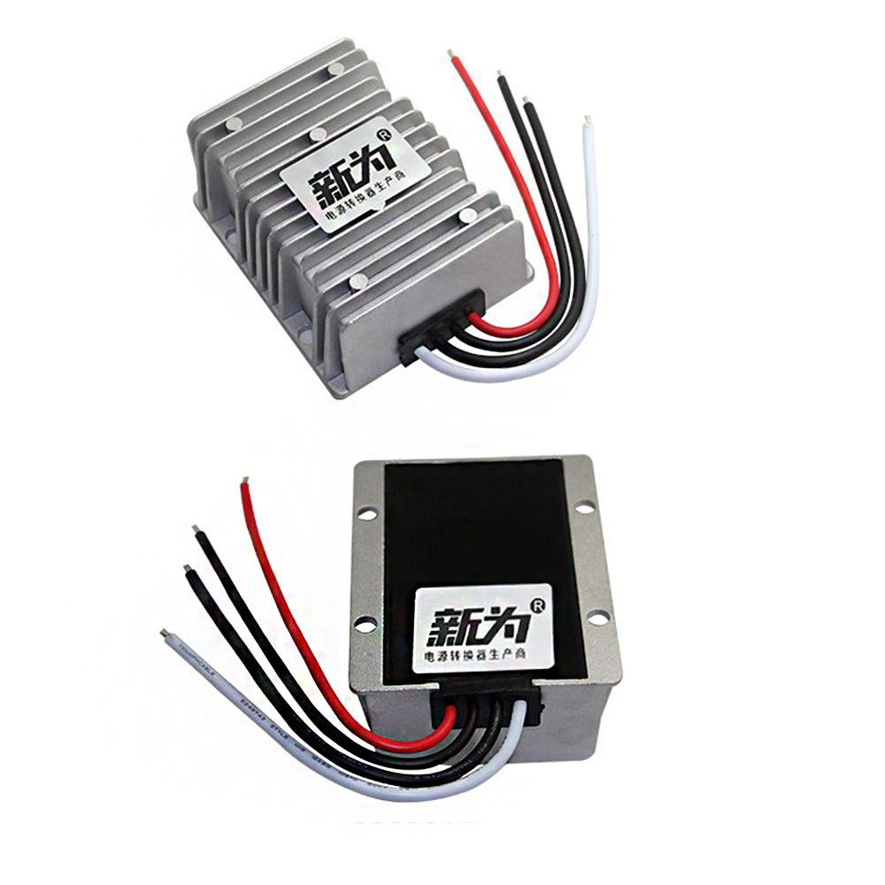 Waterproof 9-36V to 24V 15A Buck Regulator 24V 360W Automatic Step up and Step Down Module Power Supply Module Converter for Car Power