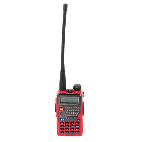 Baofeng uv-5re mais 128ch uhf + vhf 136-174mhz/400-520mhz walkie-talkie