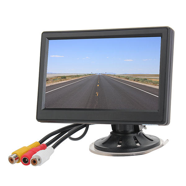 5 Inch Car Vehicle Security Ditigal TFT LCD Reverse Rear View Monitor Camera
