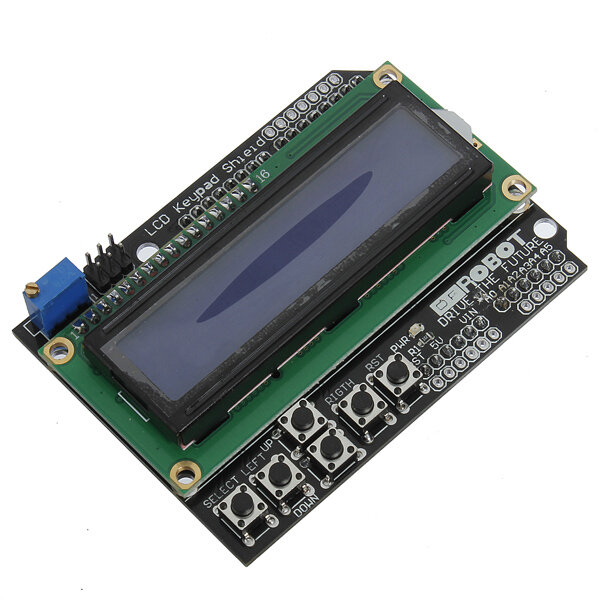 Keypad Shield Blue Backlight For  Robot LCD 1602 Board
