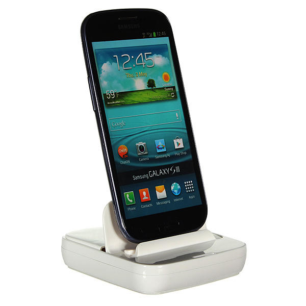 USB Sync Data Charger Dock Voor Samsung Galaxy Note 2 N7100 S3 S4