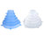 6 PCS Silicone Kitchen Storage Container Lid Multi Function Stretchable Food Keeping Case Cover