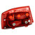 Carro Traseiro Direita / Esquerda Cauda Luz Red Shell Shell para Audi A6 S6 Quattro Sem Lâmpadas 2005-2008