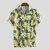 Mens Banana Printing Casual Loose Summer Vacation Fashion Shirts