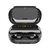 V12 bluetooth 5.0 in-ear TWS écouteurs stéréo sans fil double écouteurs + cas de charge affichage numérique avec 4000mAh Power Bank