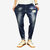 Mens Fashion Zipper Fly Pocket Design Losse Comfy Casual jeans