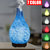 Aromatherapy Machine Cross-border Home Appliances Mute Luminous Ultrasonic Atomization 3D Glass Aroma Humidifier