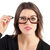 Unisex Rotatable Magnify Eye Makeup Cosmetic Glasses Reading Glasses Flip-up Round Glasses