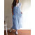 S-5XL Japanese Style Stripe Cotton Pinafore Aprons Dress with Pockets
