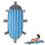 210x95cm Outdoor Inflatable Lazy Beach Mat Air Mattresses Foldable Camping Picnic Travel Sleeping Pad