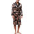 INCERUN Mens Satin Silk Pajamas Kimono Bathrobe Robe Dressing Gown Sleepwear Loungewear