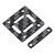 Eachine Tyro79 3 pouces version bricolage FPV Racing RC drone pièce de rechange plaque supérieure en fibre de carbone 2 PCS