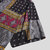 Mens Fashion Colorful Ethnic Printed Turn Down Collar Casual Shirts