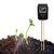 Tester pH 3 in 1 Tester di umidità Piante da interno Monitor da giardino per sensore di luce da giardino