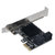 SSU SA 3014 PCI - E to SATA 3.0 6G Expansion Card With Four - Port for Desktop Computer