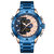 KADEMAN K9070 Casual Men Digital Watch Waterproof Week Year Display LED Dual Display Watch