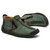 Men Hand Stitching Leather Non-slip Anti-Collision Toe Cap Casual Ankle Boots