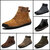 Men Anti-Collision Casual Spicing Leather Outdoor Hiking Ankle Boots