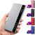 Bakeey Foldable Flip Smart Sleep Window View Stand PU Leather Protective Case for Samsung Galaxy S9 Plus Galaxy S9+