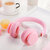 Foldable Stretchable bluetooth 5.0 Wireless Headset Mega Bass Earphones Noise Reduction Compact Headphone With Mic