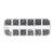 Suleve ™ MXCP5 1200 szt. Zestaw wkrętów samowiercących z wkrętem Phillips Mini Micro czarny czarny M1 M1.2 M1.4 M1.7