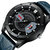VA VA VOOM VA-201 Fashion Men Watch 3ATM Waterproof Date Display Hollow Dial Quartz Watch