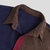 Mens Vintage Patchwork Double Pockets Long Sleeve Casual Shirts