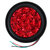 24V 16LEDs Car Turn Signal Light Brake Stop Tail Lamp Waterproof Round For Truck Trailer Lorry