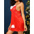 Lace Embroidery Hollow Pile Ruche Sling Backless Nightgown
