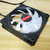 Coolmoon 5PCS 12cm RGB Cooling Fan Multilayer Backlit CPU Cooling Fan With the Remote Control for Desktop PC