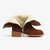 Women Plus Size Solid Foldable Plush Lining Warm Ankle Short Boots
