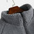 Mens Wool Thickened Patchwork Stand Collar Warm Loose Casual Coats