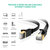 Cat7 10Gbps Ethernet Ultra Flat Cable Lan Network RJ45 Patch Cable For PC Laptop