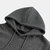 Mens Vintage Square Jacquard Pattern Hooded Casual Sports Sweatshirt