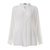 Plus Size Women Solid Color Make Old Casual Vintage Blouse