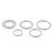 Drillpro 16mm-30mm Circular Saw Blade Reduction Ring TCT Carbide Cutting Disc Conversion Ring Woodworking Tools