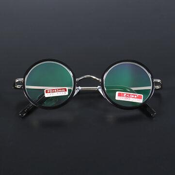 Óculos de Leitura Ampliando Leve Redondo Retro Aliviar Fadiga Resistência 1.5 2.0 2.5 3.0