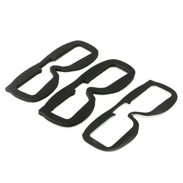 2 PCS Fatshark Replacement Faceplate Soft Foam Pads Voor FPV Goggles