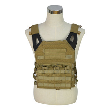 WoSporT Military Tactical Vest Chest Carrier Waistcoat Airsoft Paintball Combat