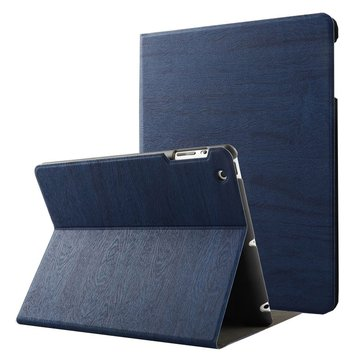 Wzór słojów drewna Smart Sleep Kickstand Case Do iPad 2/3/4