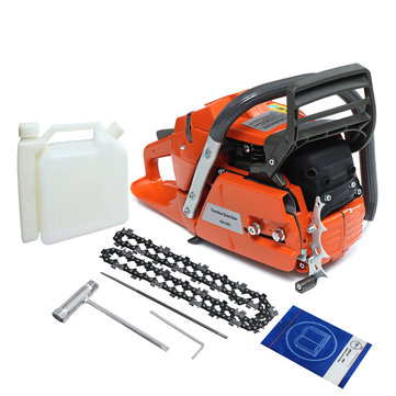 3.4KW 18 Inch Blade Professional Wood Cutter Chain Saw Heavy Duty Gasoline Chainsaw HUS365 65CC