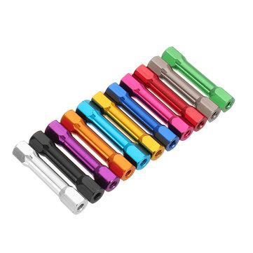 Suleve ™ M3AR11 10Pcs M3 Goujons Hexagonaux Hexagonaux espacés de 35mm, multicolores pour PCB
