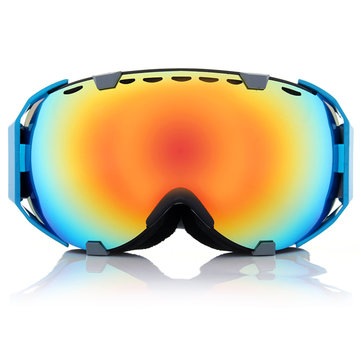 Ski Goggles Motorcycle Spherical Anti Fog UV Protective Dual Lens Snowboard Glasses