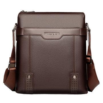 الرجال حقيبة الأعمال حقيبة الكتف حقيبة كروسبودي لباد