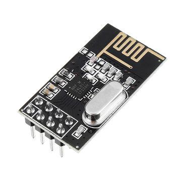 NRF24L01 + 2.4GHz Antenna Modulo ricetrasmettitore wireless per MCU Distanza di trasmissione 100M Geekcreit per Arduino - prodotti che funzionano con schede Arduino ufficiali