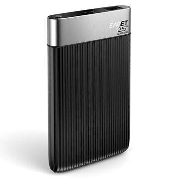 Eaget Y200 2.5inch 1TB / 2TB ذكي Wireless WiFi Hard Drive Private Cloud Drive التحكم عن بعد Shared