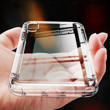 Baseus iPhone用保護ケースXS 2018クリア透明なエアクッションコーナーバックカバー